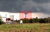 VIDEOS / un tornado pasó por Punta Indio pero no produjo daños