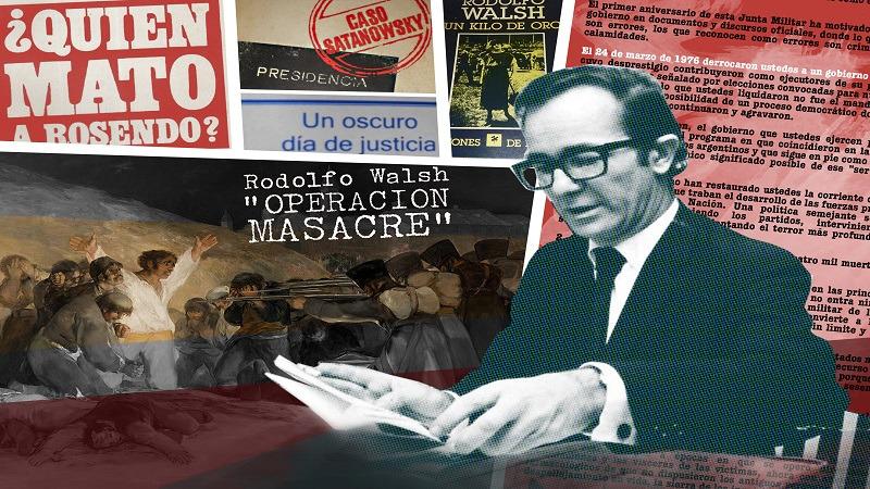 Descubren que Rodolfo Walsh era socio de Estudiantes de La Plata y ahora Verón prepara un homenaje
