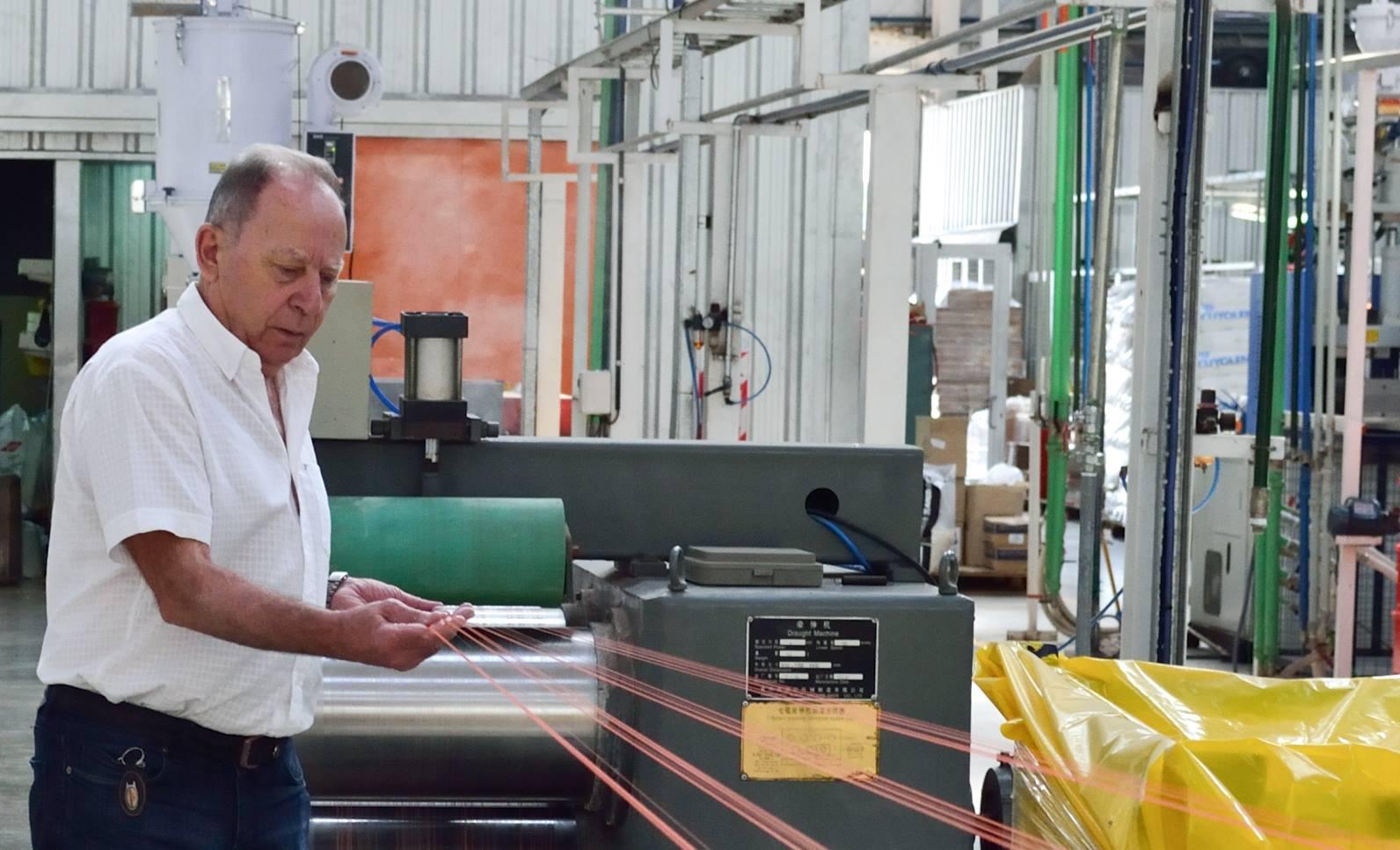 Ricardo Pagano, creador de la empresa Pagano SA en la ciudad de Carlos Casares, Provincia de Buenos Aires