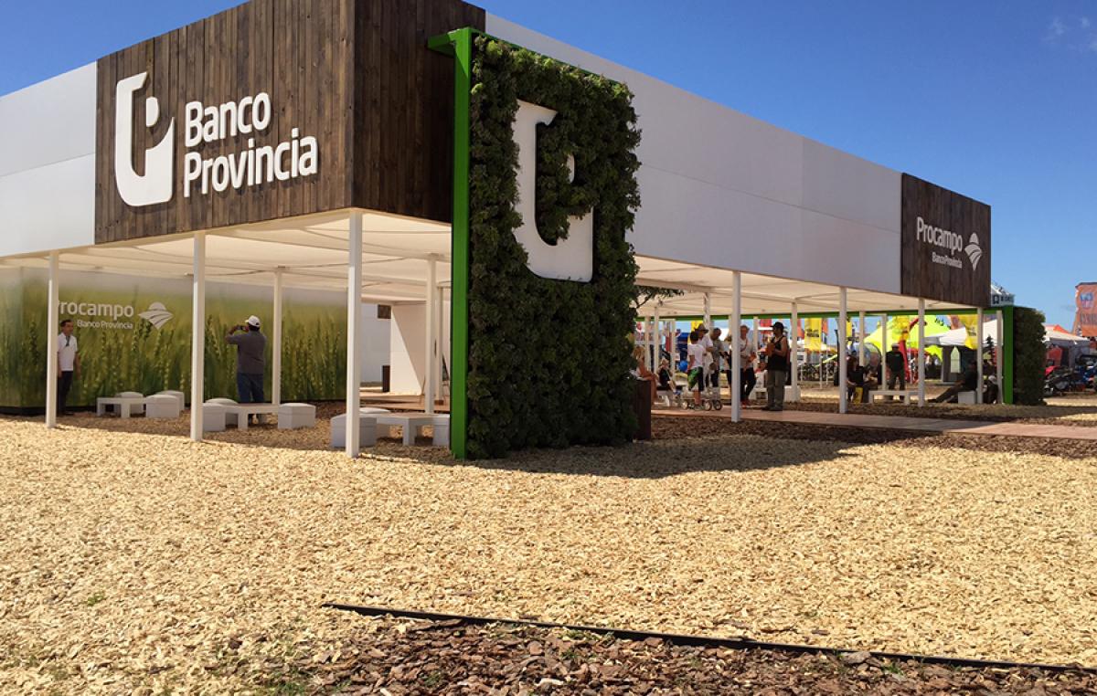 Expoagro Stands : Banco provincia llega a expoagro con nuevas líneas de crédito