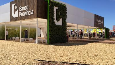 Banco provincia llega a Expoagro con nuevas líneas de crédito y financiamiento a tasa 0%