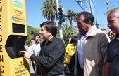 Gral Rodríguez / Kubar puso en funcionamiento el tótem de emergencia