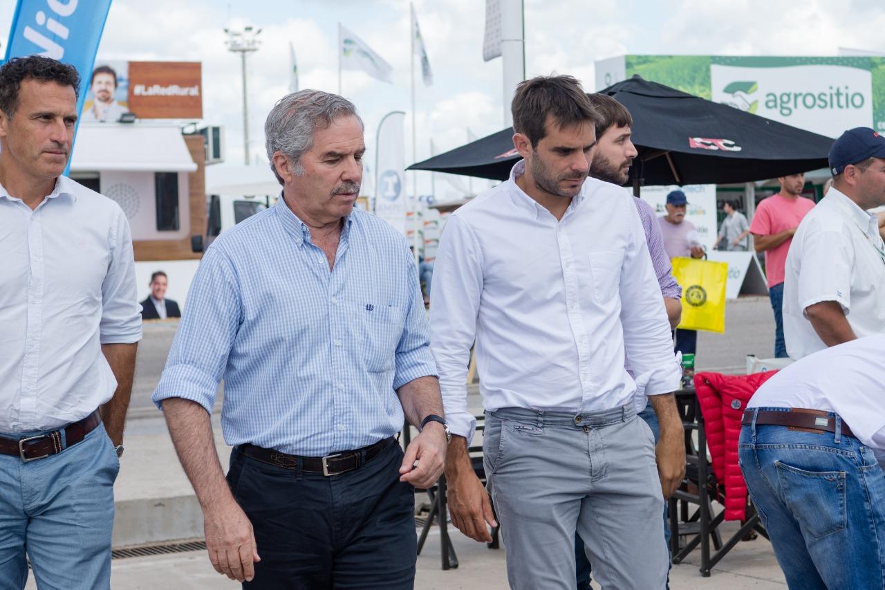 Solá, Frigerio y Ardusso pasaron por la Expoagro 2019
