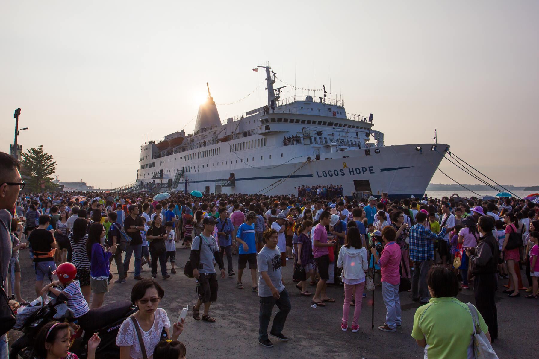 Logos Hope: La librería flotante más grande del mundo estará en Bahía Blanca