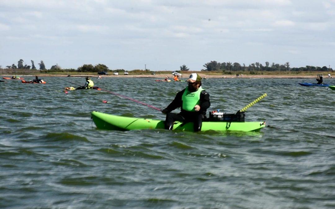 T. Lauquen / Este domingo se realizará el 3er concurso de pesca en Kayak en cuero de Zorro