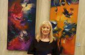 La artista plástica Emilia Ghirardi logró el primer premio en dos concursos de arte
