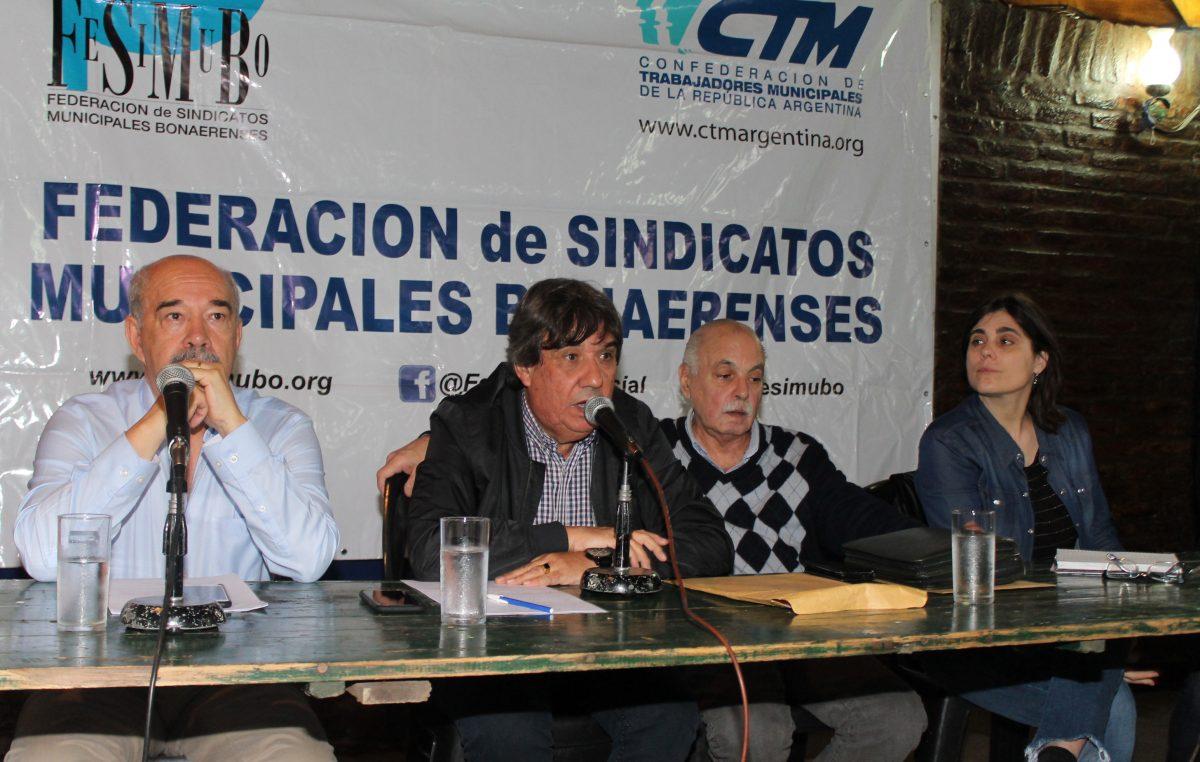 Fesimubo decretó el Estado de Alerta y Movilización contra la reforma de la Ley de Paritarias y Negociación Colectiva y el techo del 23%