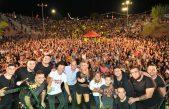 Más de 35 mil nicoleños festejaron con la música de Karina