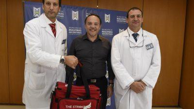 El ACV ahora se podrá tratar en el hospital de Trauma y Emergencias de Malvinas Argentinas