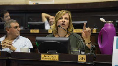 """Florencia Saintout y un """"doble rol"""" a pedido de Kicillof"""