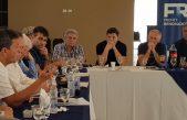 """Massa reunió la tropa en Las Heras y expresó """"el 11 de diciembre tiene que empezar un nuevo gobierno"""""""