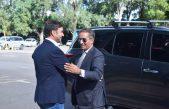 El embajador de Paz de la República de los Niños, Odino Faccia recibió en su primera visita oficial al Embajador de Portugal