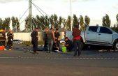C. Areco / 16 gitanos en una camioneta chocaron con un camión y 9 murieron