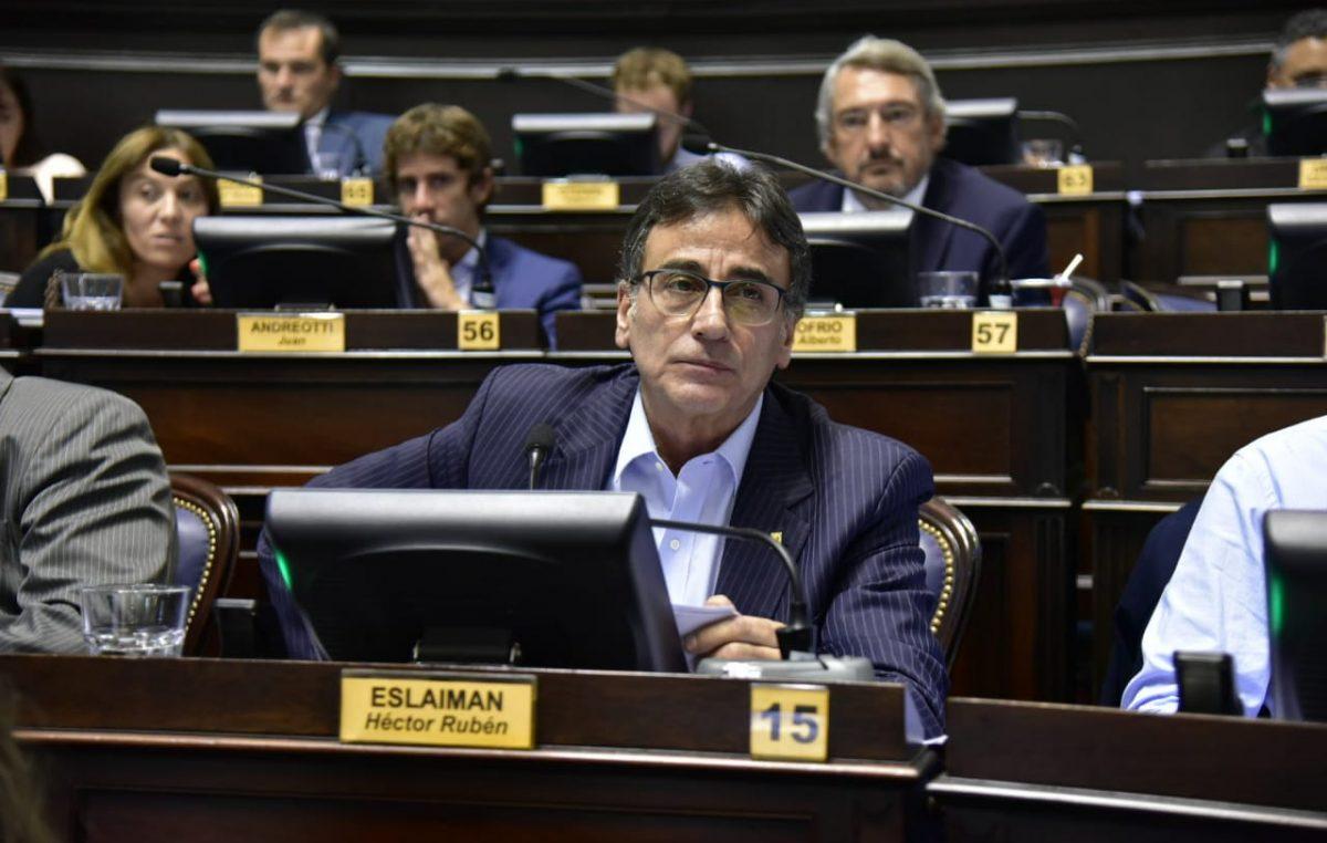 Eslaiman le tiró flores a Massa y dijo que Macri destruyó el país en 4 años