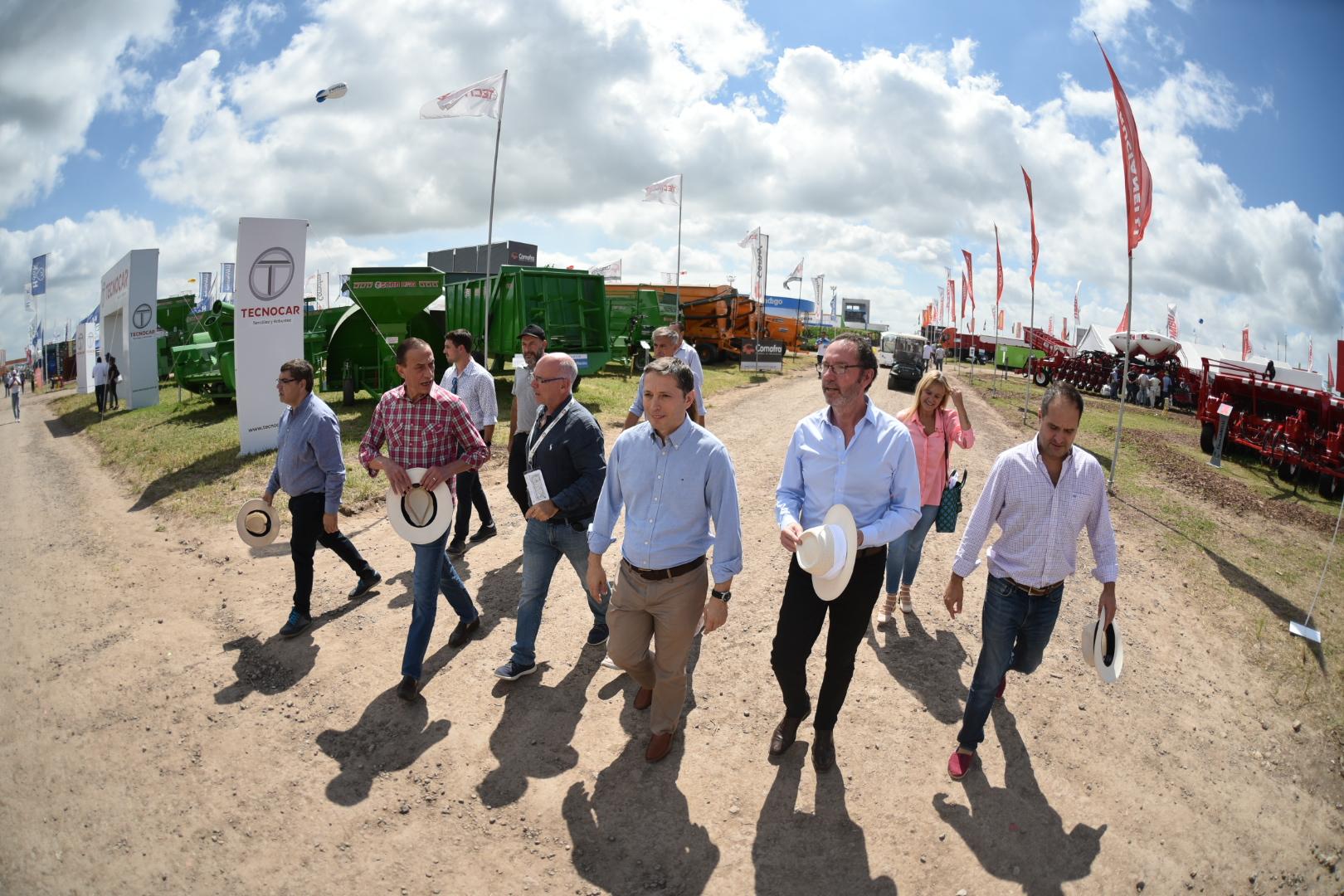 Intendentes Peronistas en la Expoagro 2019