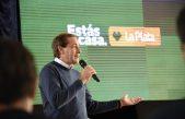 """La Plata / """"En tres años hicimos más que en los anteriores 30"""", aseguró el intendente Garro"""