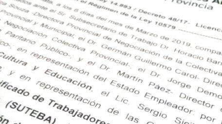 """Los gremios docentes anunciaron que este año se hará efectiva la """"licencia para mujeres víctimas de violencia"""""""