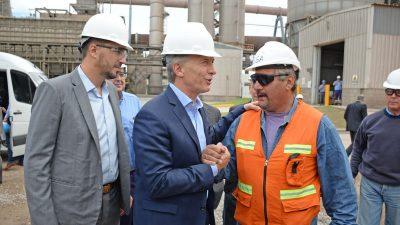 """""""Estamos empezando a salir del pantano"""", dijo Mauricio Macri en Olavarría"""