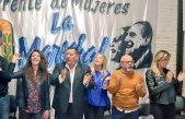 Merquel, Alvarez Rodríguez, Fassi y 400 mujeres peronistas de Morón pidieron por Cristina