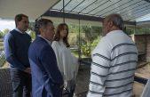 """Vidal y Garro visitaron el Espacio para la Memoria """"Destacamento de Arana"""""""