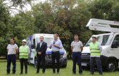Para más tranquilidad de los platenses, Garro inauguró 50 kilómetros de fibra óptica y llegarán a 1000 las cámaras de seguridad