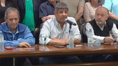 El Frente Sindical anunció un paro con movilización y ollas populares