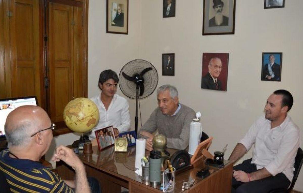 Eseverri visitó al ex intendente Gorosito en Saladillo