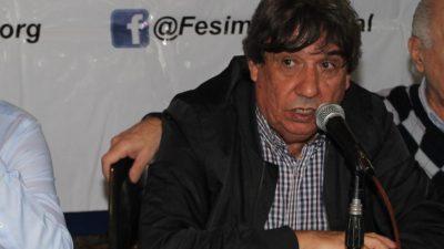"""""""Un paro aislado no sirve, tiene que ser un plan de lucha"""", dijo Rubén Cholo García en la previa a la movilización a Plaza de Mayo"""
