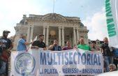 Gremios y Movimientos Sociales marcharon a Gobernación por Producción y Trabajo