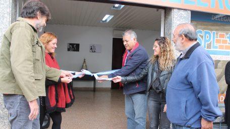 """El Sindicato de Ladrilleros inauguró nueva sede en La Plata: """"La actividad cayó un 60%"""", alertó Romero"""