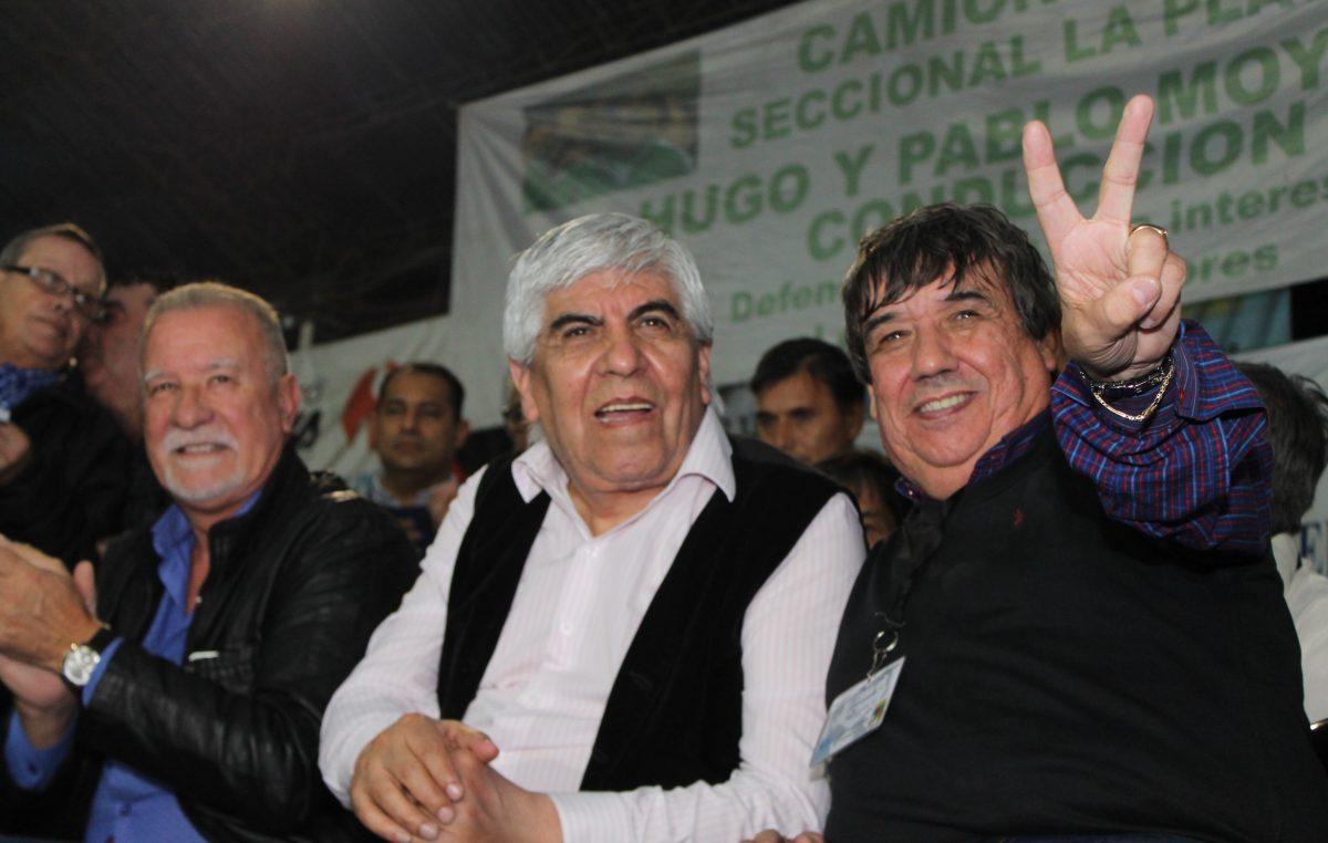 Acto junto a Moyano: Municipales de Cholo García lanzaron su brazo político