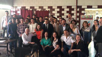 Legisladores de Cambiemos realizaron una jornada de Dislexia en población carcelaria en la Unidad Penal 45