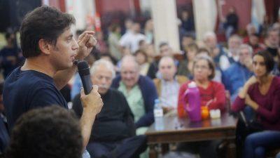 """""""Sea Vidal o sea Macri, el problema es el modelo de país"""", aseguró Kicillof de recorrida por Carmen de Areco y San Andrés de Giles"""