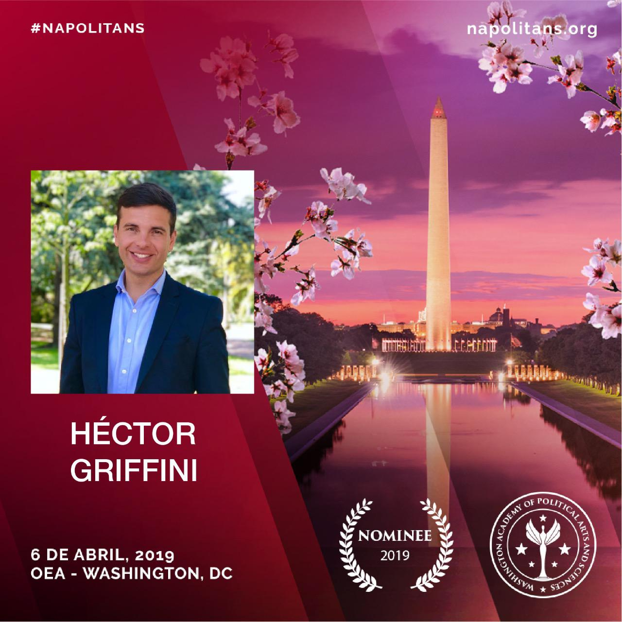 El lujanense Héctor Griffini nominado en Washington