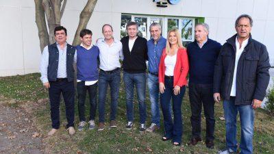 Kicillof, Magario e Insaurralde demostraron la unión del peronismo en la Provincia