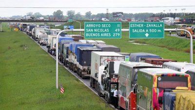 Confirman que realizarán el tercer carril de la autopista Buenos Aires-Rosario
