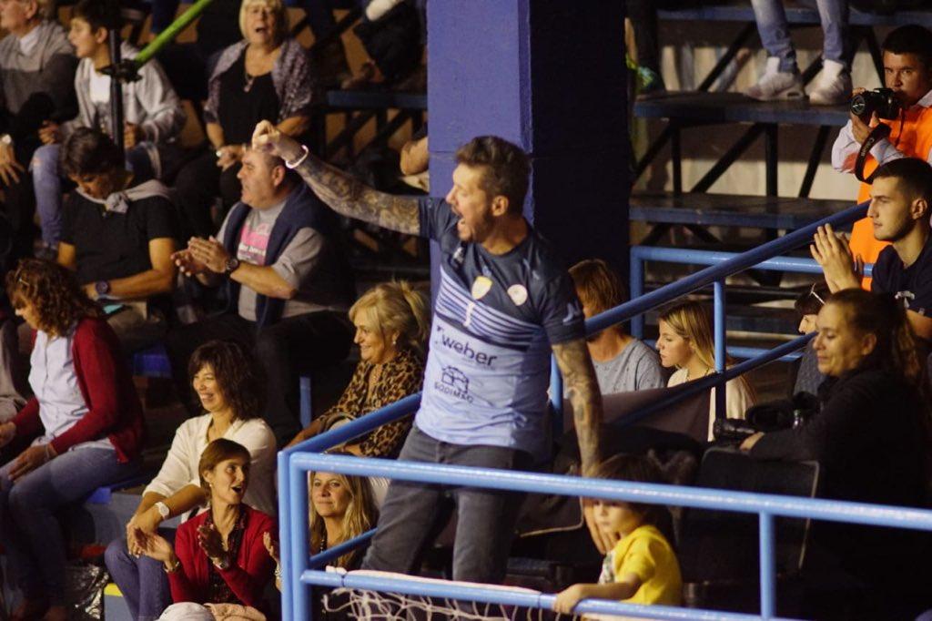 Bolívar fue una fiesta en la primera final de la Liga de Voleibol