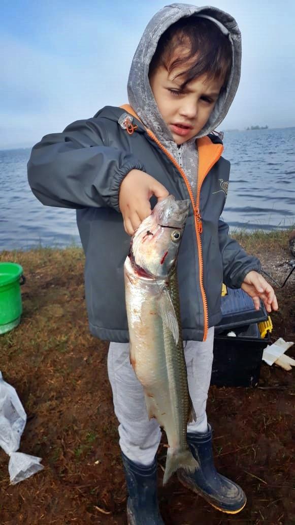 Ciro Gandini, tiene 4 años es de Carlos Casares ¡Nació Pescador!