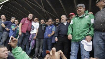 El Frente Sindical sacó a la CGT a la calle y convocó a un plenario para definir un paro