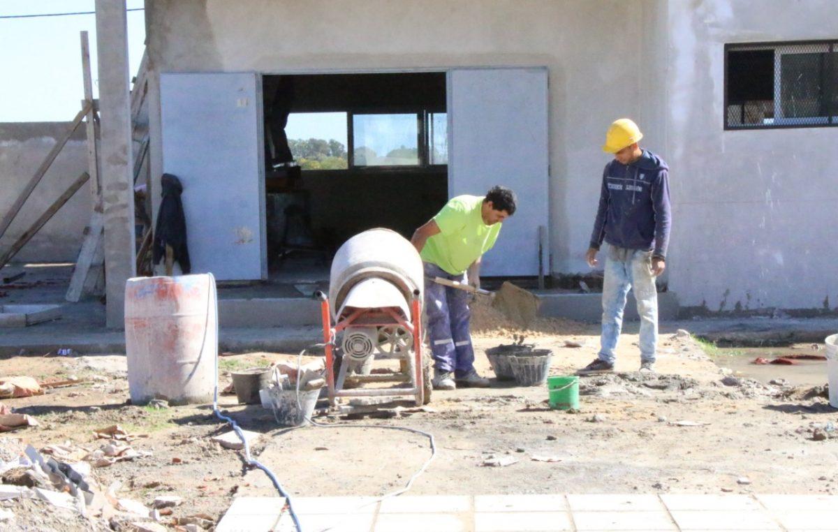 Bolívar avanza con la construcción del nuevo edificio para la Escuela Especial N° 502
