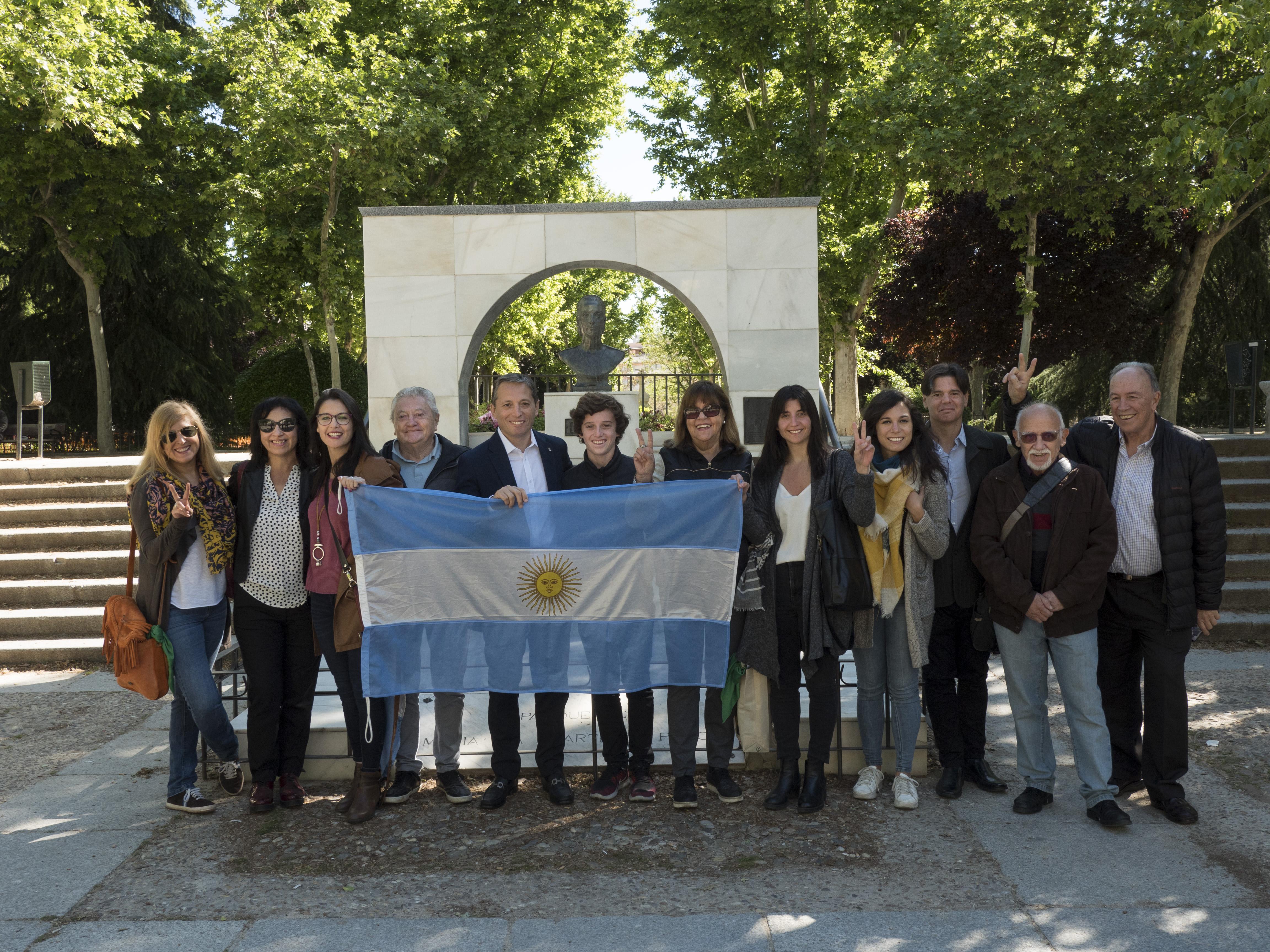 Homenajearon a EVITA en Madrid por el centenario de su nacimiento