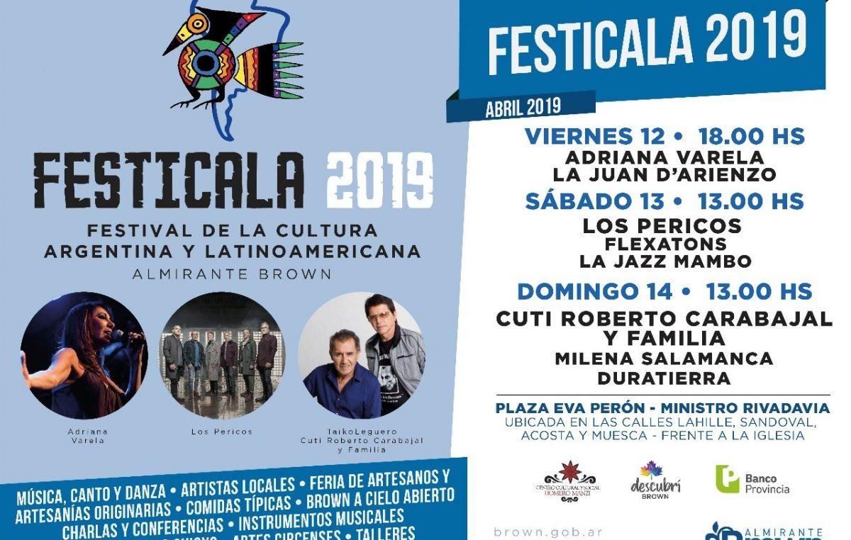 Llega Festicala con Cuti y Roberto Carabajal, Adriana Varela y Los Pericos
