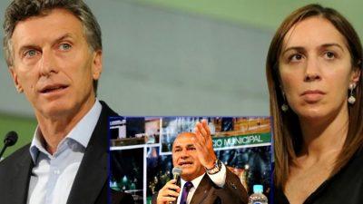 """Macri y Vidal inauguran obras en territorio """"ultra K"""" y el intendente los recibe con el cuchillo entre los dientes"""