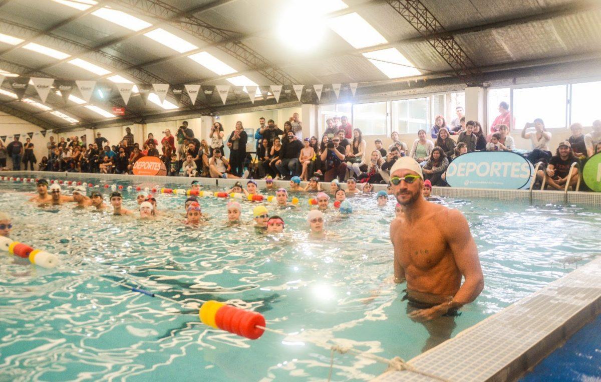 Meolans brindará una clínica en el natatorio municipal de Monte Hermoso