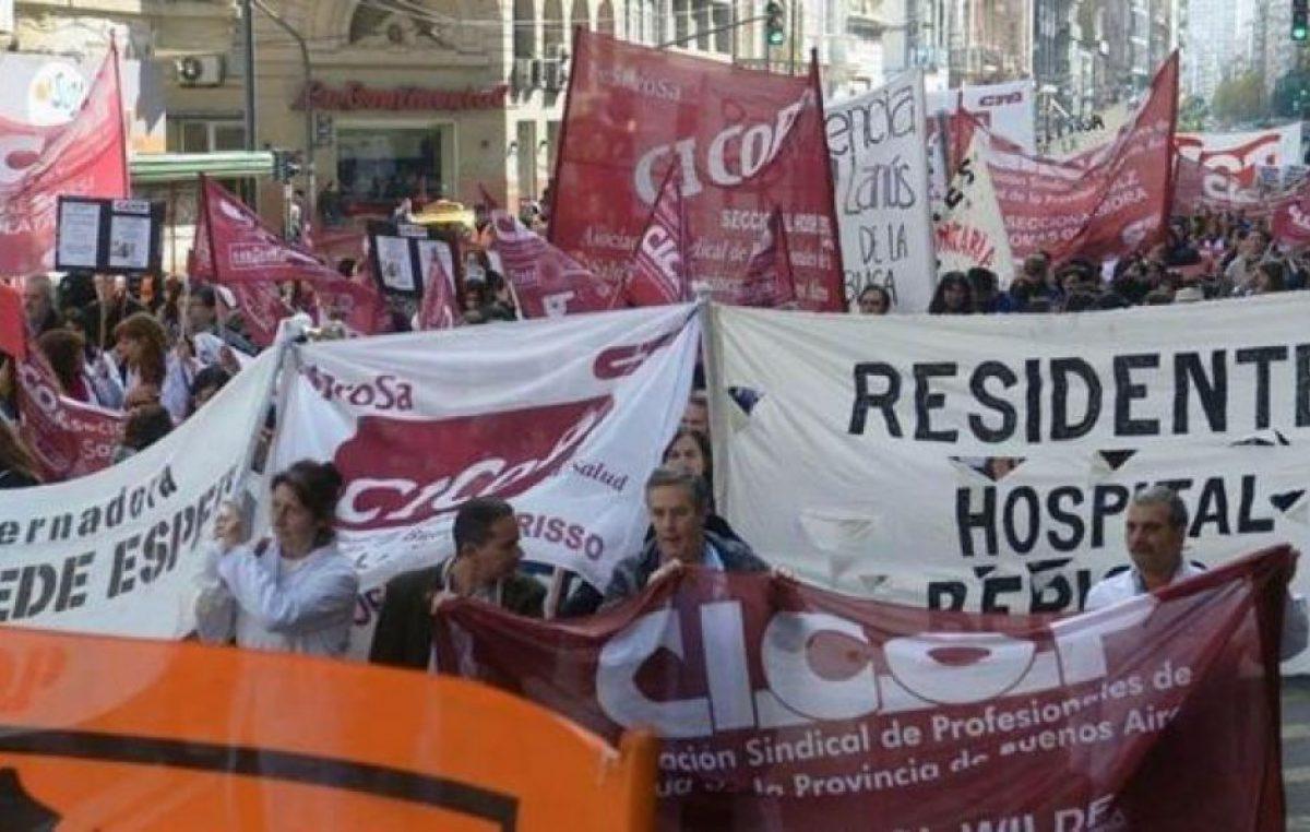 """Desde CICOP reclaman paritarias y cuestionan el SAME de Vidal: """"Es de mala calidad y los pacientes caen a una guardia colapsada"""""""