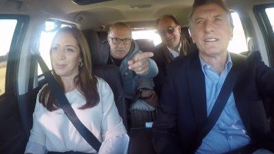 Multan a un intendente y a un Campeón Mundial del ´86 por no usar el cinturón de seguridad en un viaje con Macri y Vidal