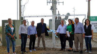 Pergamino / Javier Martínez inauguró la subestación eléctrica de Guerrico