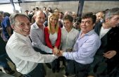 Fuerte muestra de unidad del Peronismo Bonaerense: Magario, Insaurralde y Kicillof juntos en Avellaneda