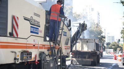 La Plata / Por obras viales, estará cortada calle 7 desde 54 hasta 57 por 6 días