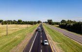 Avanzan a paso firme las obras de repavimentación de la Autovía 2
